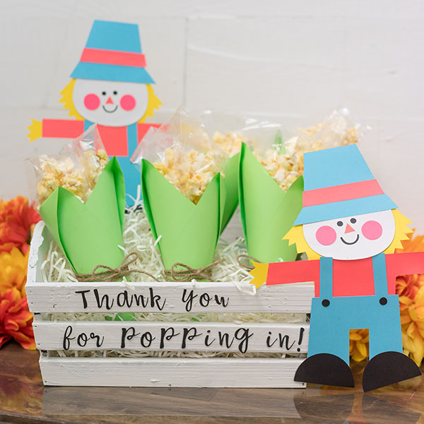 Fall Party Favor Template