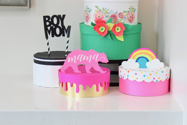 Astrobrights Paper Cakes