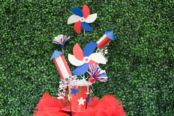Astrobrights Patriotic Party Decor