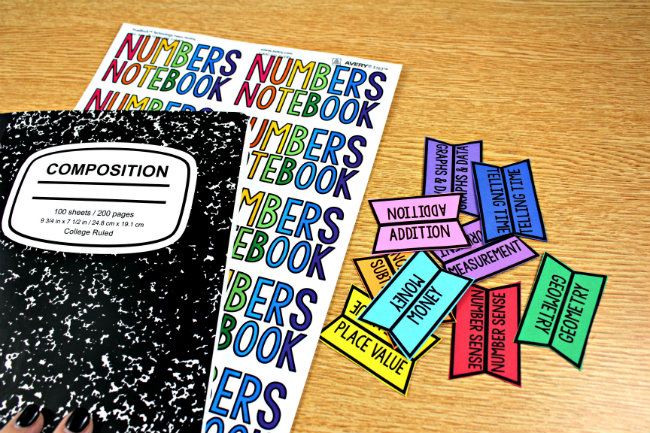 Color-Coded Learning Notebooks