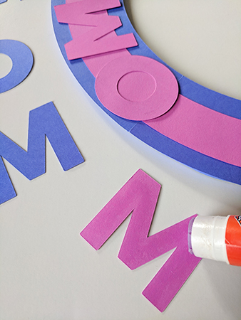 DIY Paper Wreath Project