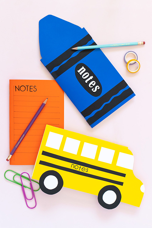 DIY Back to School Notebooks