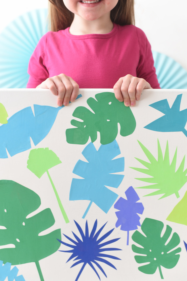 Leaves Wall Art Kids Craft