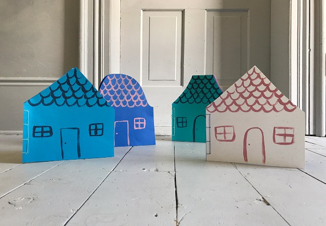 Paper Dollhouse Notebooks
