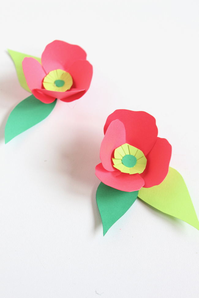 Astrobrights Paper Flowers