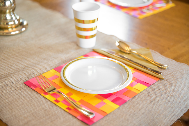 Paper Weaved Placemats