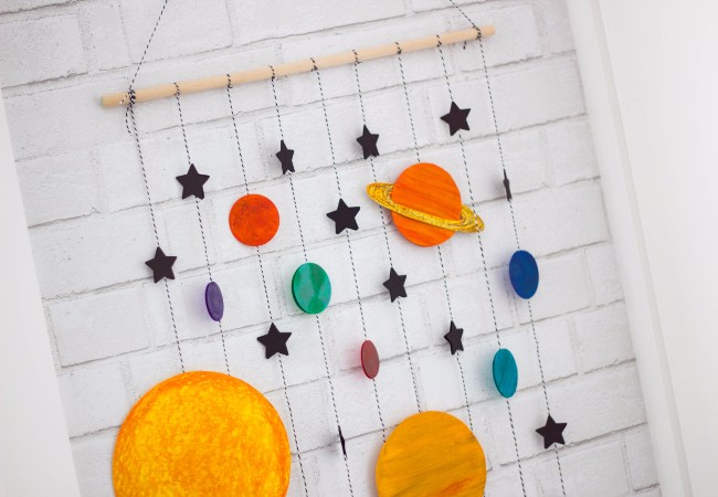 Solar System Mobile Decor