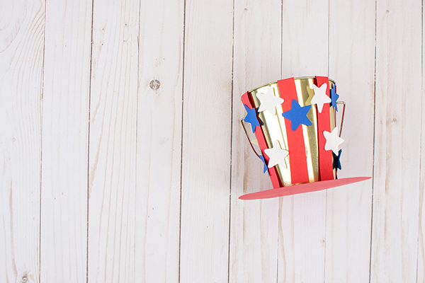 DIY Patriotic Bucket Hat