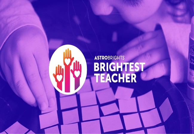 Astrobrights 2017 Brightest Teacher Contest