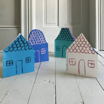 DIY Dollhouse Notebook