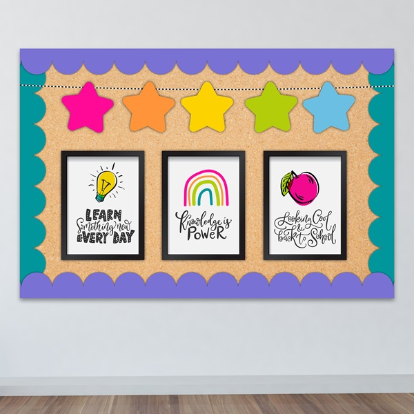 Brightest Classroom Bulletin Borders Decor