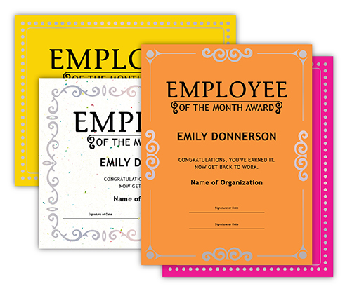 Employee of the Month - Main