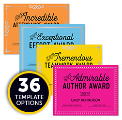 Education Certificate Templates Resources Astrobrights