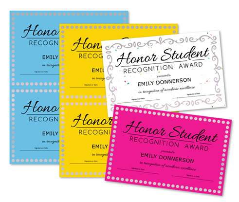 Honor Student 2up - Main