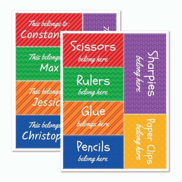 Teacher Primary Organization Labels