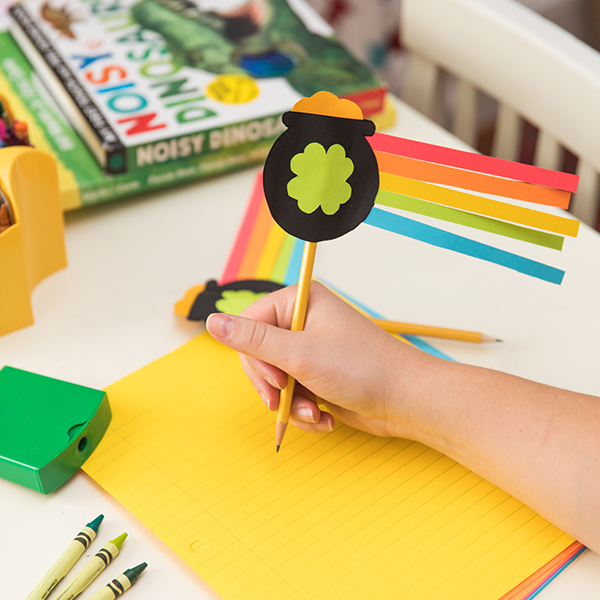 St Patricks Day Pencil Topper